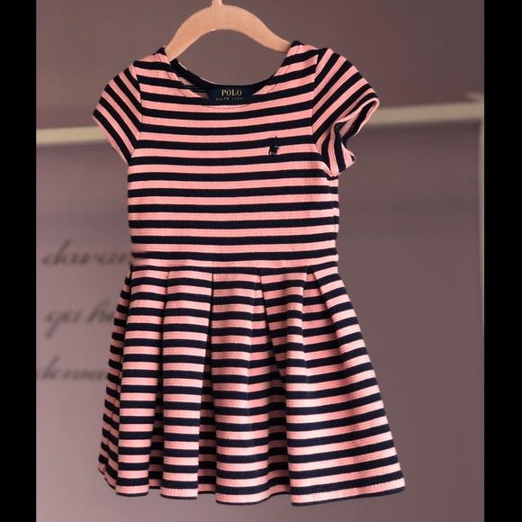 lauren ralph lauren pink dress polo res